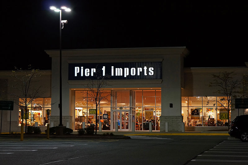 Pier 1 Imports announces bankruptcy filing, closing 450 ...