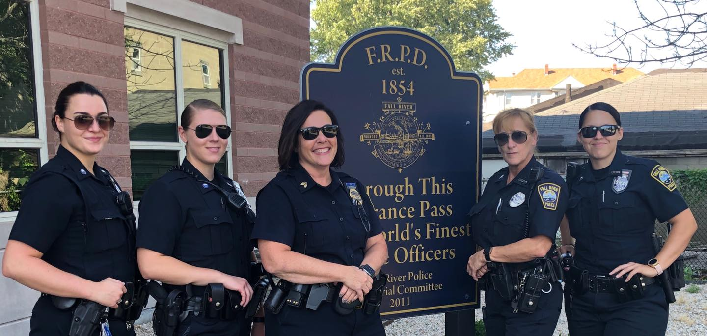 Fall River Police Department makes history Wednesday night – Fall